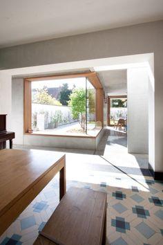 Architectenkantoor: FREEK architecten - Gallery house mooie tegels