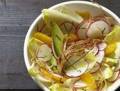 Radish, Enoki, Tangerine, and Avocado Salad From 'Feast'