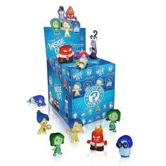 Disney Pixar Inside Out Mystery Minis Vinyl Figures