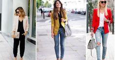30 outfits con blazers que te ayudarán a tener un estilo de 10