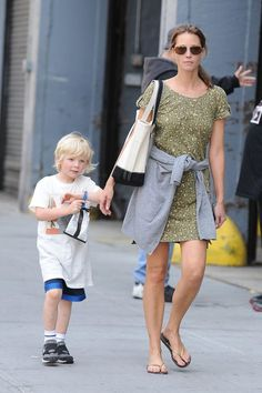 Christy Turlington. 43 with 2 kids. She makes me want to wear sunscreen.