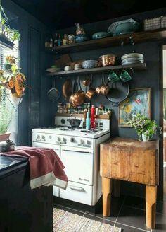 . #kitcheninteriordesignbohemian