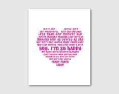 Isnt she lovely  nursery wall art  subway by SusanNewberryDesigns, $15.00
