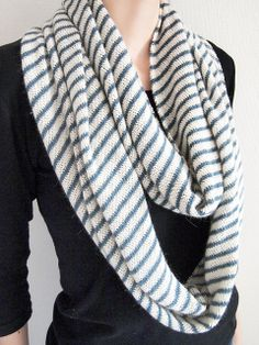 Arnhem Loop knit in one of my favorite yarns, Shibui Cima. Free pattern