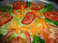 Cura pela Natureza.com.br: Receita de pizza de verdura de liquidificador (sem glúten nem lactose!)