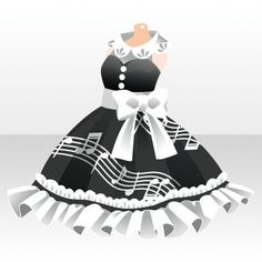 Cartoon Outfits, Anime Outfits, Dress Outfits, Girl Outfits, Cute Outfits, Dresses, Anime Dress, Model Outfits, Cocoppa Play