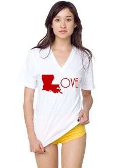 As a transplanted Louisiana girl, I LOVE this shirt! The website that is linked to this shirt is pretty cool too.