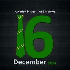 Black day for Pakistan...we lost 144 of our beloved kids...