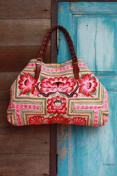 Luxury Tribal Ethnic Tote Bag L216-L1 SALE 99 by LavishLanna