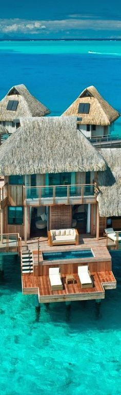 Hilton Bora Bora Nui Resort and Spa. #travel #BoraBora