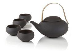 Pebble Teapot Set at Teavana - Understated Elegance
