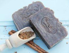 Oak bark and cinnamon- natural handmade soap Bath Products, Handmade Soaps, Bath Salts, Bath Bombs, Cinnamon, Artisan, Natural, Soap, Bath Scrub