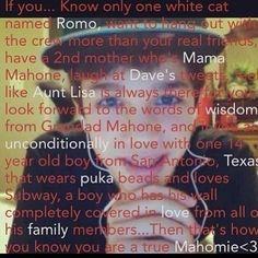 True Mahomie!!!! thats meeeeeee!!