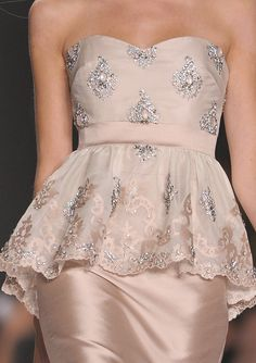 For the MILF of the Bride/ Badgley Mischka Spring 2013 Details
