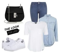 """""""Untitled #287"""" by jessi-pham ❤ liked on Polyvore featuring Topshop, Chloé, adidas, women's clothing, women's fashion, women, female, woman, misses and juniors"""
