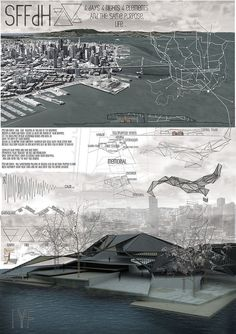 Good concept Board. Very visual and much rendering. #architecture #presentation #board #visualization #renders #concept
