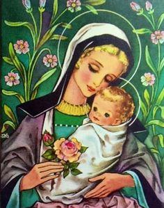 Madonna and Child.