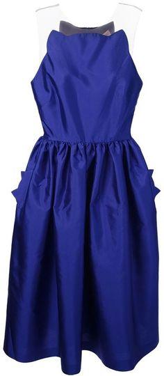 Maria Lucia Hohan 'Milena' scalloped neck dress on shopstyle.com