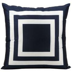 Nourison Geometric Indoor/Outdoor Throw Pillow | AllModern