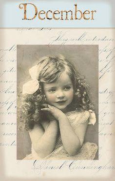 "Victorian ""Calender Girls"" ~ December"