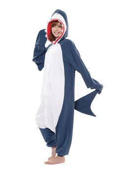 Fancy sharking about? Well do it in this supersoft, super cool fleecey shark Kigu!
