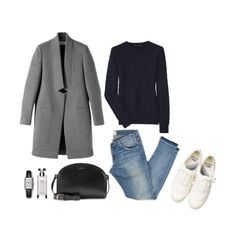 Still cold by unejeunedemoiselle on Polyvore featuring polyvore, fashion, style, Ralph Lauren Black Label, STELLA McCARTNEY, Bulgari and Lacoste
