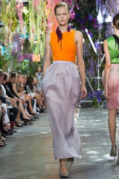 Christian Dior Spring 2014 Ready-to-Wear Fashion Show - Magdalena Langrova