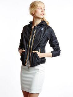 raincoat K-Way Lily Plus Lily Plus Black