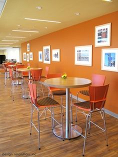 bar height meeting area with artopex xpresso seating and take off tables artoplex office furniture