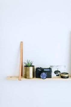 DIY HANGING LEATHER