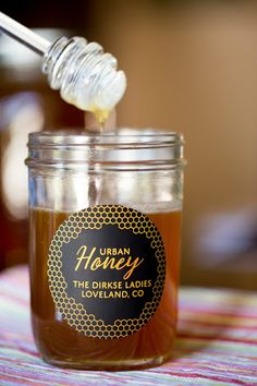 Image result for white ink honey label