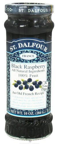 St. Dalfour - Fruit Spread 100% Natural Jam Black Raspberry - 10 oz. $4.52 (13% OFF) #St.Dalfour