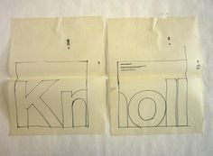 Sketches for Knoll au Louvre exhibition catalog Ink on tissue paper Box Massimo and Lella Vignelli papers Vignelli Center for Design Studies Rochester, New York Massimo Vignelli, Catalog Cover, Brand Style Guide, Design System, The Fault In Our Stars, Fashion Branding, Graphic Design Inspiration, Visual Identity, Paper Design