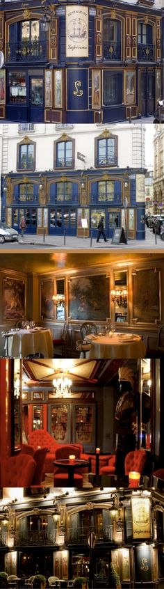 PARIS J'ADORE by pinterest.com/ Luxurydotcompinterestluxury Laperouse has engraved its name as one of the world's best restaurants. Founded in 1766 on the banks of the picturesque River Seine, Laperouse resides in one of Paris' most exclusive addresses, a historic mansion overlooking the Ile de la Cite. They say what goes around comes around and Laperouse's olden day look has never been so now. From worn mirrors to deep pink and aubergine velvet sofas, etched glass and wood panelling the…