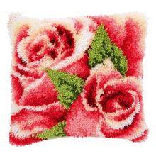 Vervaco® Rose Buds  Latch Hook Kit
