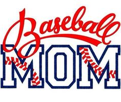 Baseball Mom Logo