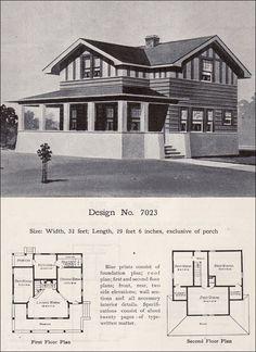214 Best Vintage House Plans 1900s Images Vintage House