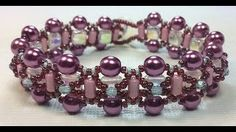 Ruby Lockwood - video tute for bracelet  ~ Seed Bead Tutorials