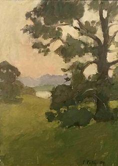 Fairfield Porter | Tree (1954) | Available for Sale | Artsy