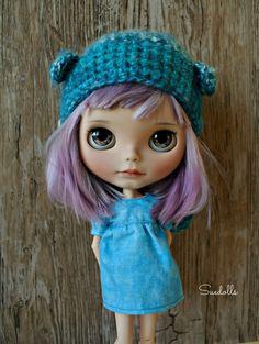 OOAK Custom Blythe Art Doll 'NIM' Suedolls | eBay