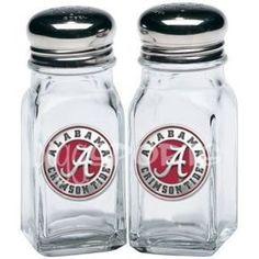 Alabama Crimson Tide Salt and Pepper Shaker Set ROLL TIDE!