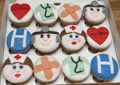 Hospital Cupcakes - Sweetest Sensation