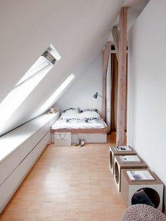 Espace XXS bien caché sous les toits, au 7eme étage, au centre du ...