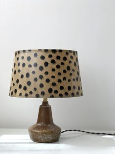 Swedish Modern Handmade Stoneware Table Lamp by Swedish ceramist and designer Gunnar Nylund for Rörstrand, Sweden. The body displays simplicity and Mid-century Modern, Modern Table, Ceramic Table Lamps, Scandinavian Modern, Vintage Ceramic, Stoneware, Mid Century, Display, Ceramics
