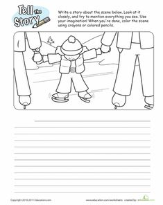 Worksheets: Picture Story Starter