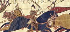 A Guide to the The Bayeux Tapestry :http://www.medievalists.net/2009/06/11/the-bayeux-tapestry/