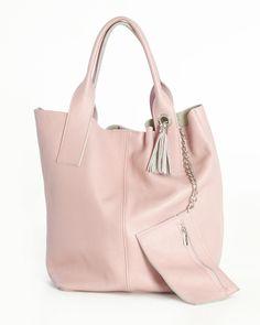 Silvana Cirri Genuine Leather Tassel Shoulder Bag Made in Italy at Modnique.com