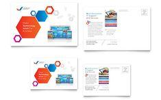 Free Postcard Template Design