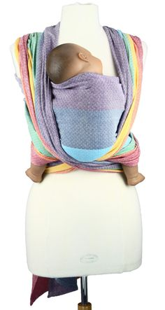 Girasol light rainbow wrap. Gorgeous.  thought this was really cool, for my nephew. my babies sure wouldnt fit it this now..