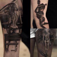 #tattooartist : @niki23gtr #amazing #work #womensfashion #woman #tattoo #tattoos #tattooed #sexylingerie #design #art #artwork #artist #realistic #body #fitness #great #top #topart #topshop #best